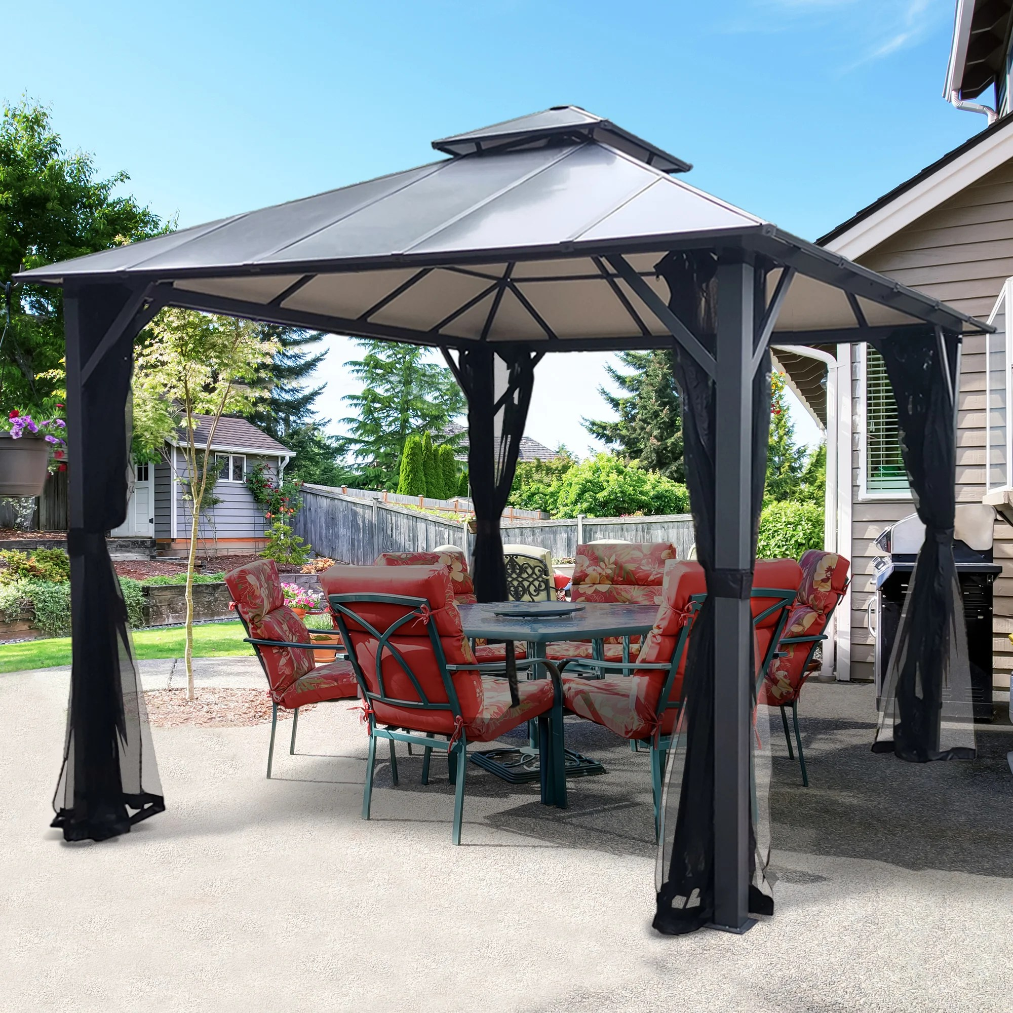hio double roof insulated 10 ft w x 10