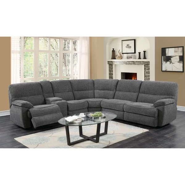 mclendon 216 right hand facing platinum sleeper sectional with mattress