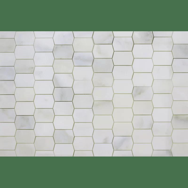 picket marble mosaic tile