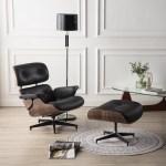 Latitude Run Vart Genuine Leather 34 Swivel Lounge Chair And Ottoman Reviews Wayfair