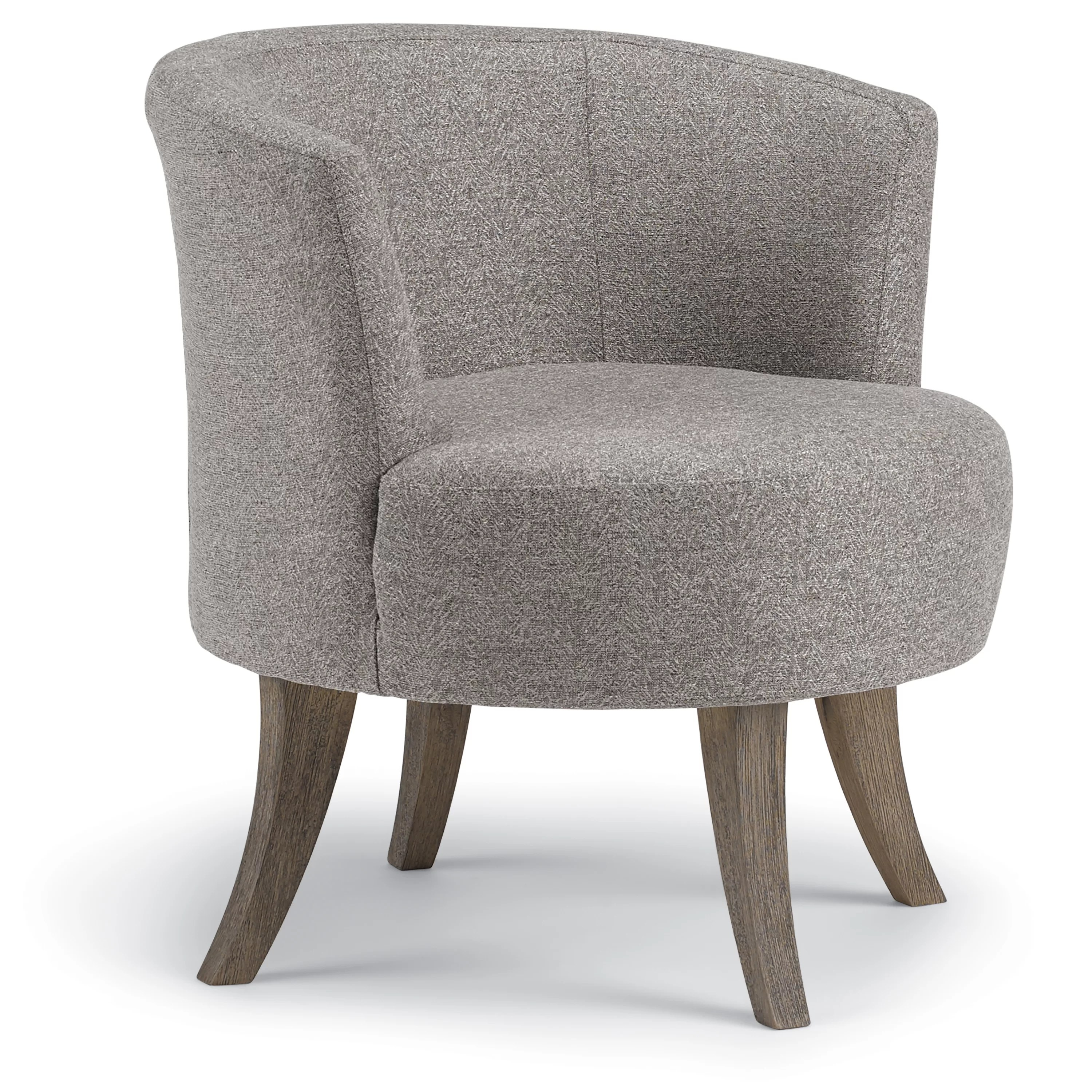 Swivel Tub Chair Steffen Swivel Barrel Chair