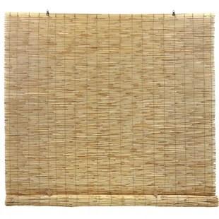 reed cord free semi sheer roll up shade