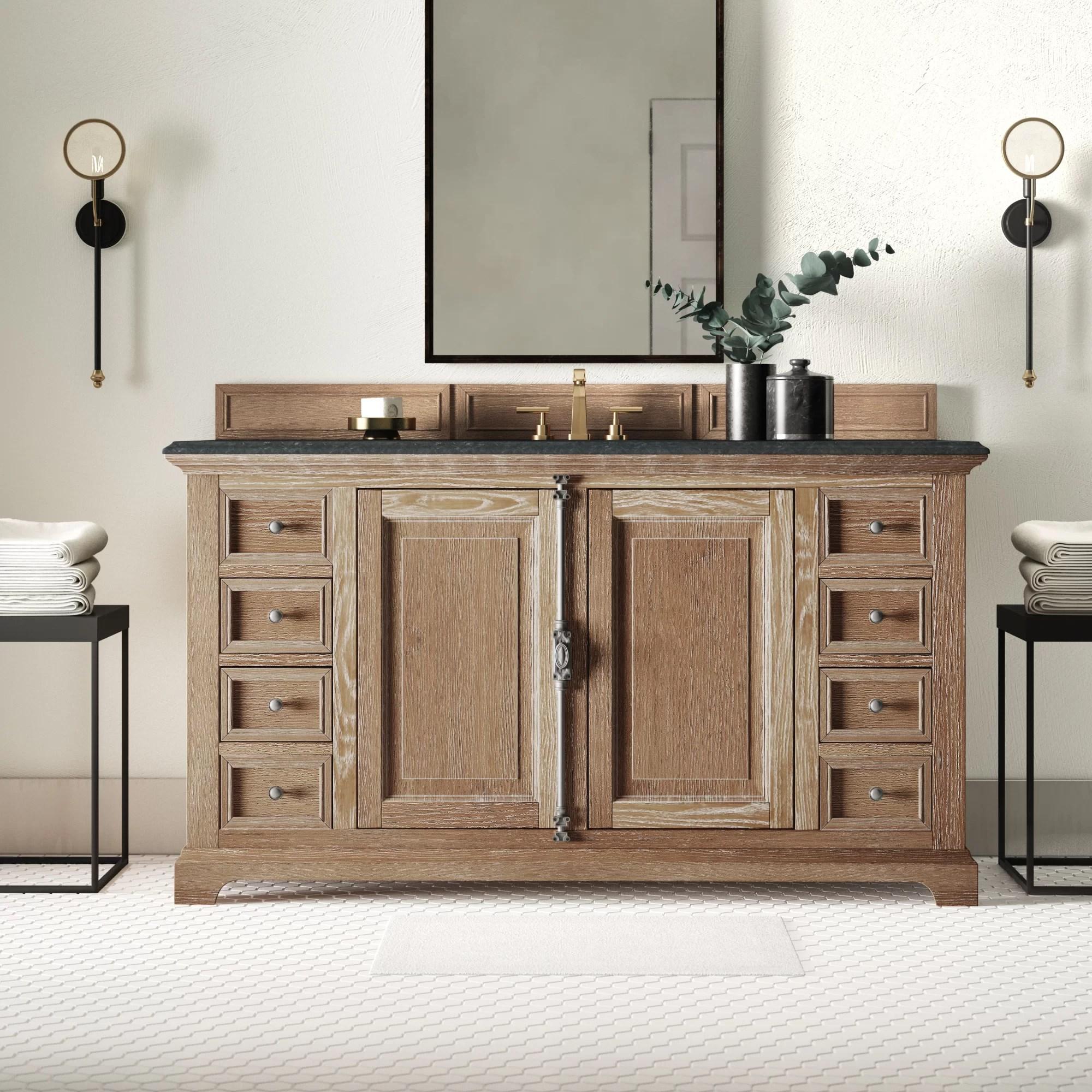 nunnari 60 single bathroom vanity base only