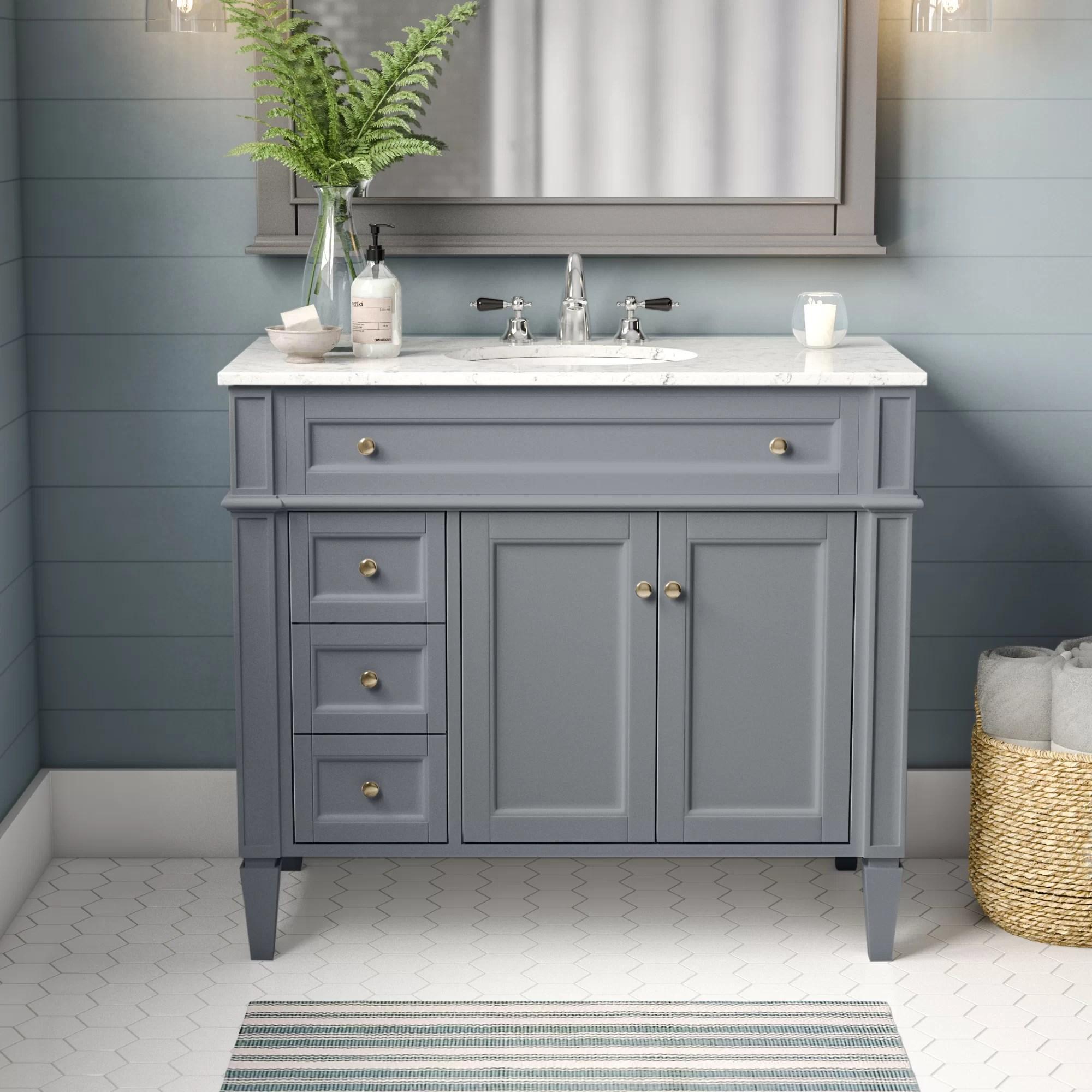 amariani 43 single bathroom vanity set