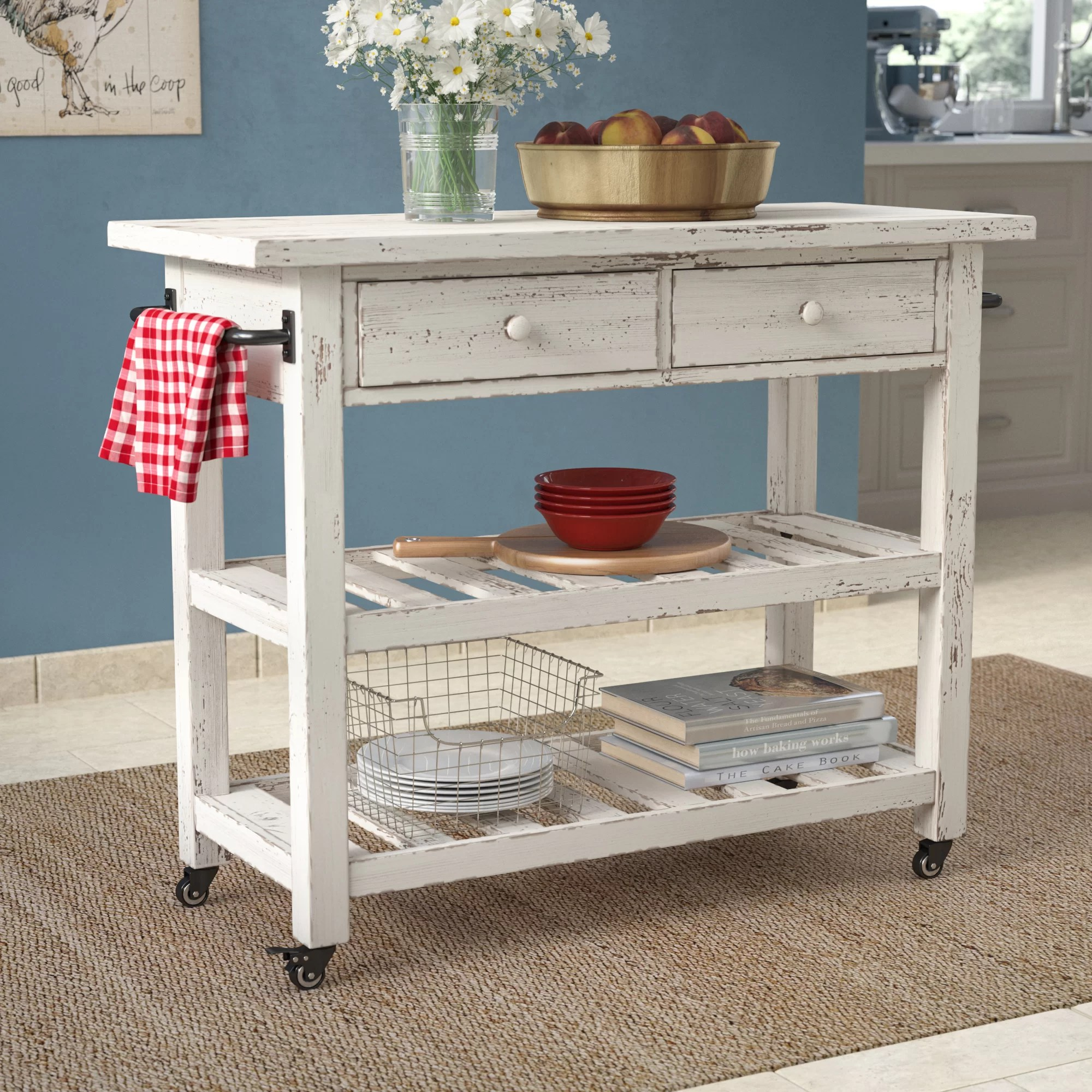 kitchen cart table custom island for sale august grove bryn reviews wayfair