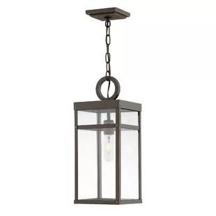 breana 1 bulb 19 h outdoor hanging lantern