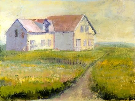 Davids House by Susan Fehlinger Painting Print on Wrapped Canvas Size: 18 H x 24 W x 1.5 D