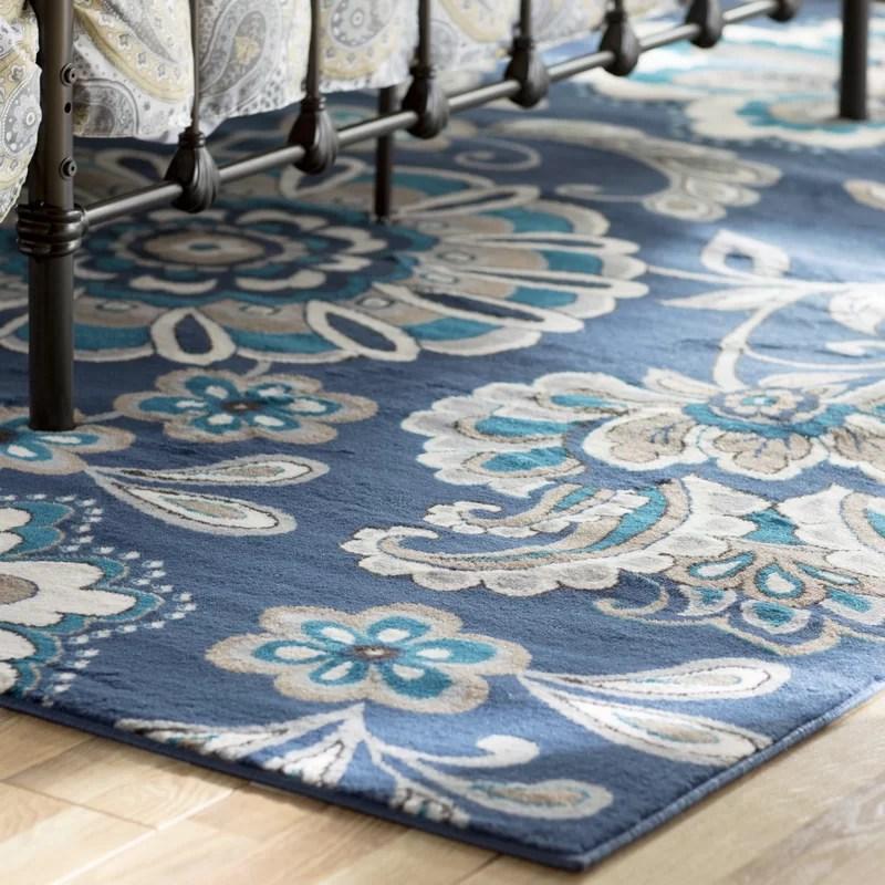 Andover Mills Tremont Blue Area Rug  Reviews  Wayfair