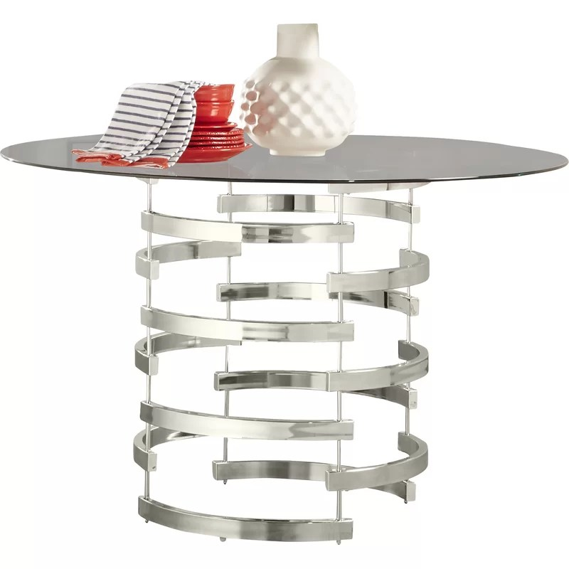 Small Round Dining Table Decorating Ideas