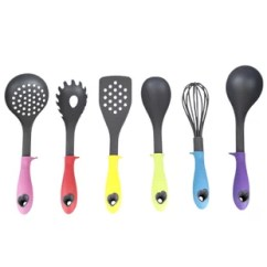 Kitchen Utensil Sets Pop Up Electrical Outlet For You Ll Love Wayfair 6 Piece Silicone Coated Tool Set