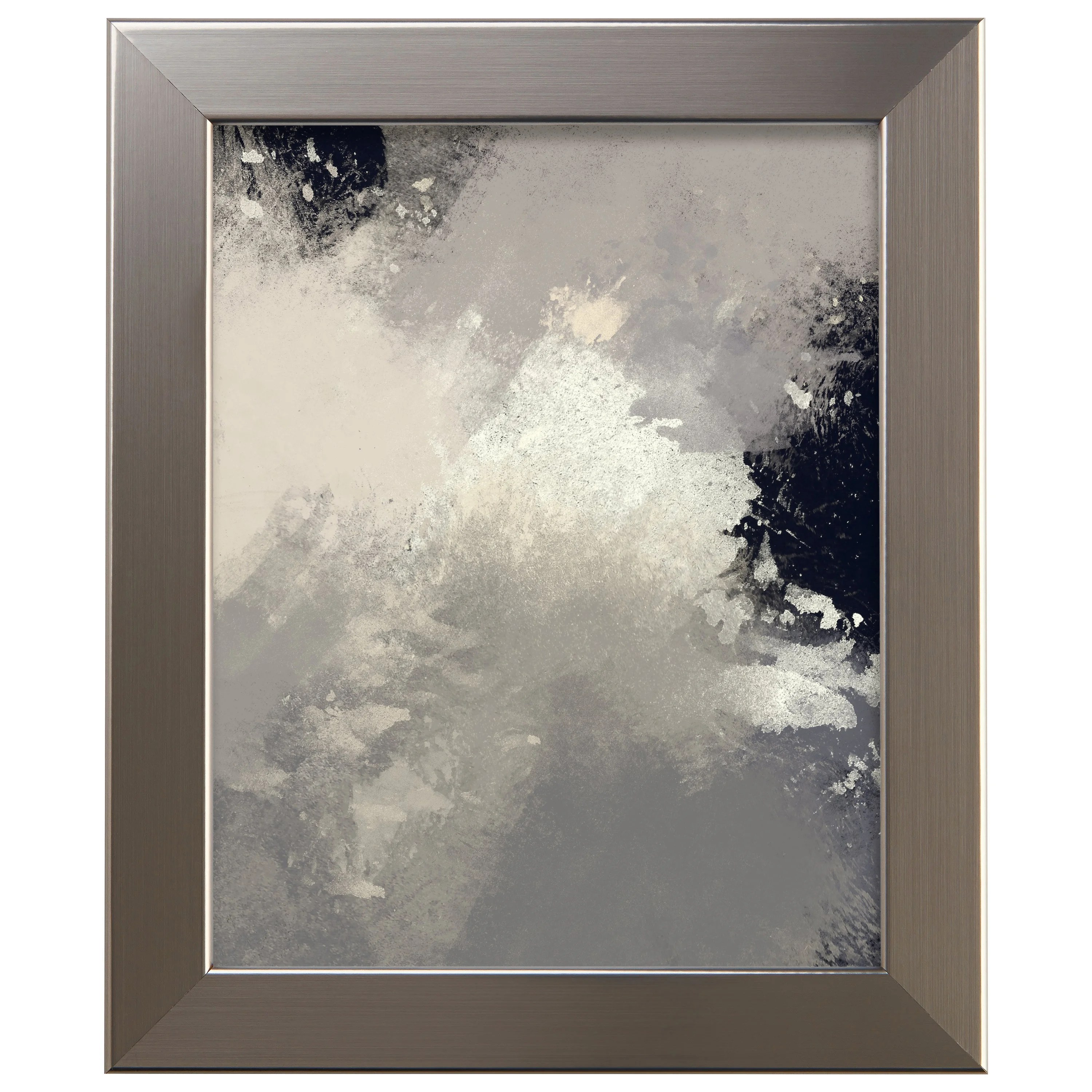 wide wood composite picture frame poster frame