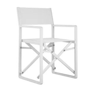directors chair white plastic stackable chairs director beach lawn you ll love wayfair kathiria folding with cushion