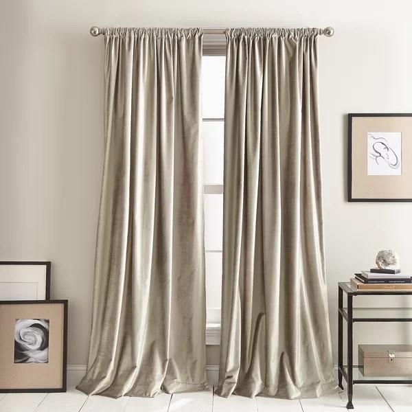 midcentury modern curtains