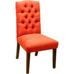 Red Tufted Dining Chair Hanging Nz Chairs Joss Main Rosewood Upholstered Set Of 2