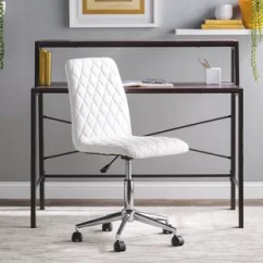 Desk Chairs On Wheels Best Big And Tall Leather Office Chair Wood You Ll Love Wayfair Quickview
