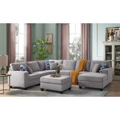 Modular Living Room Furniture Decor Inspiration Sectionals You Ll Love Wayfair Ca Mequon Sectional With Ottoman