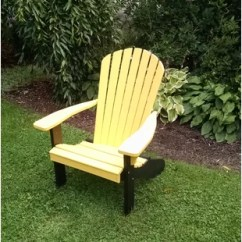 Yellow Adirondack Chairs Plastic Pier One Dining Table You Ll Love Wayfair Quickview