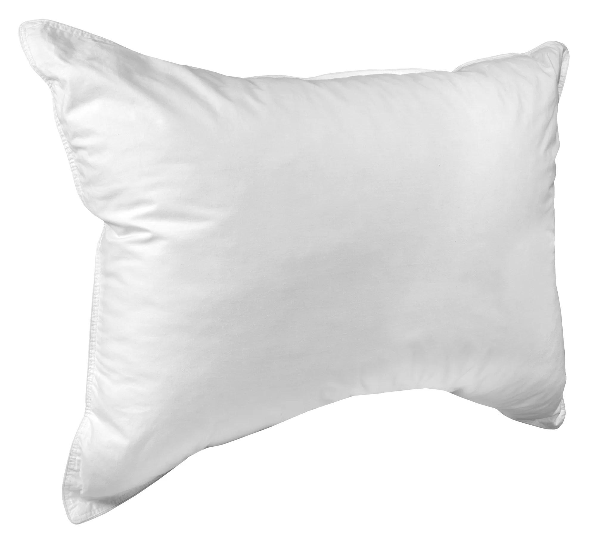 dream surrender ii medium down alternative bed pillow