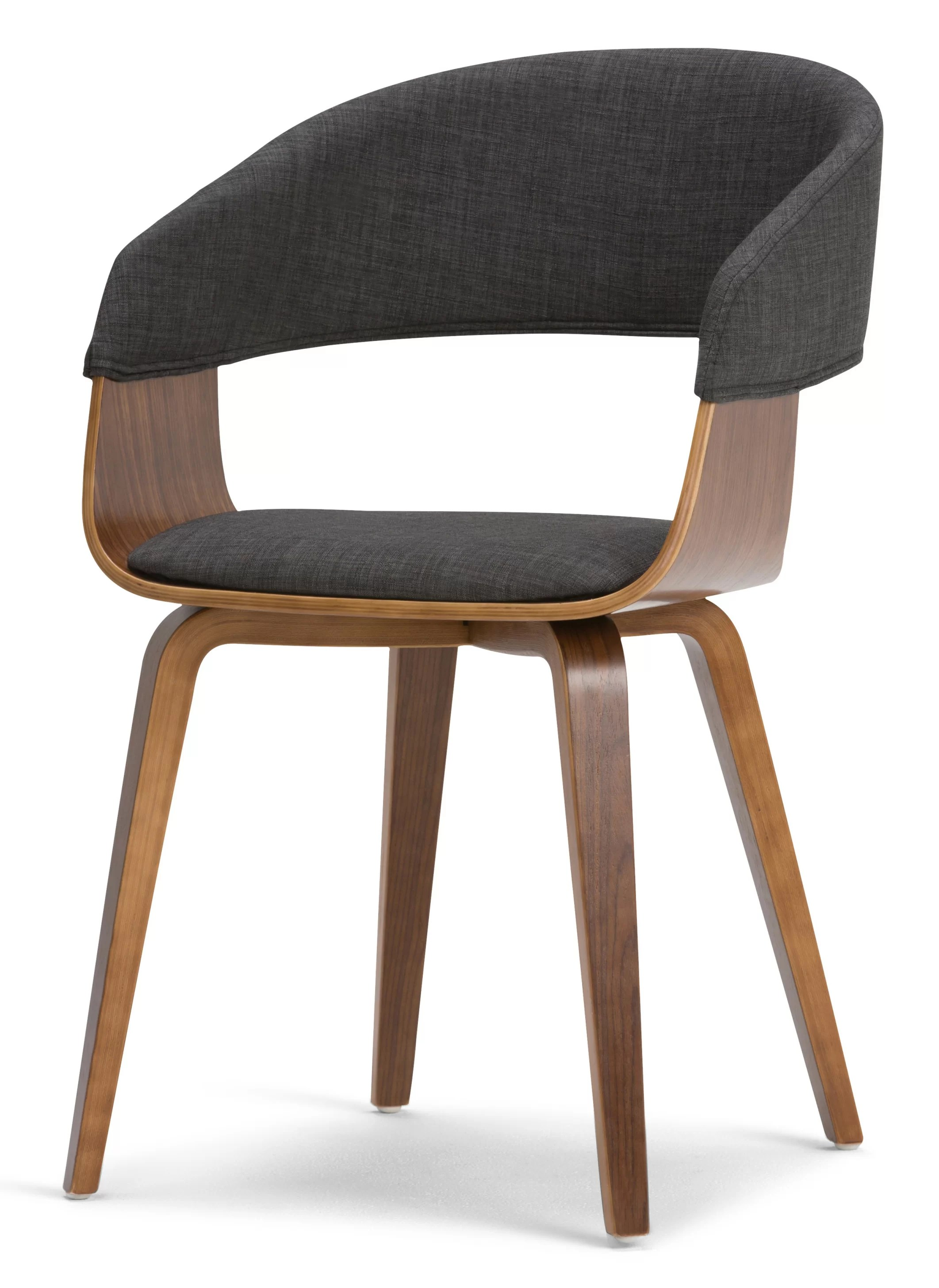 bentwood dining chair bean bags chairs simpli home lowell upholstered wayfair
