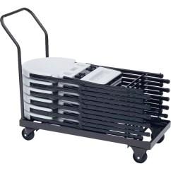 Folding Chair Dolly Ciao Baby Correll Inc 500 Lb Capacity Stacking Wayfair