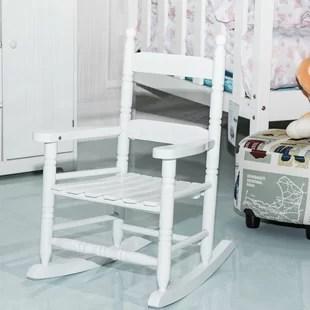 kids upholstered rocking chair folding vietnam wayfair bud kid
