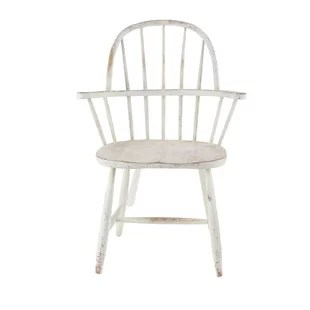 white distressed dining chairs constance side wooden chair wayfair osterley solid wood