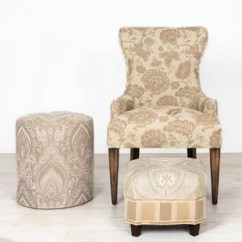 Country Style Wingback Chairs Ergonomic Chair Cervical Support French Accent Wayfair Maeve Floral And Ottoman