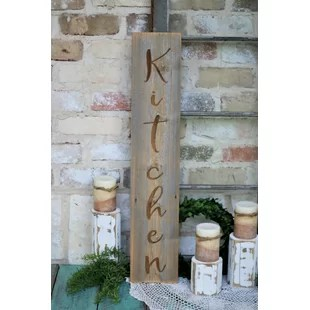 decorative kitchen signs shelving for wayfair sign wall decor