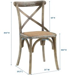 Farmhouse Dining Chairs Backpack Folding Chair Laurel Foundry Modern Gage Solid Wood Reviews Wayfair