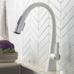 White Kitchen Faucet Second Hand Cabinets Faucets You Ll Love Wayfair Quickview