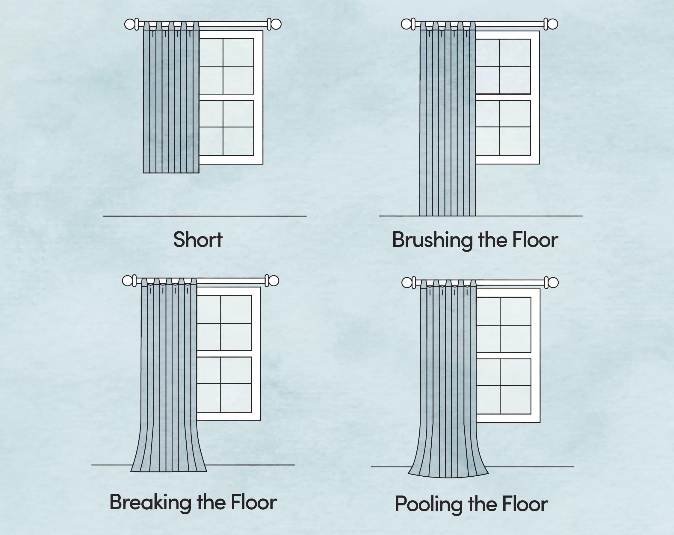 how to hang curtains wayfair