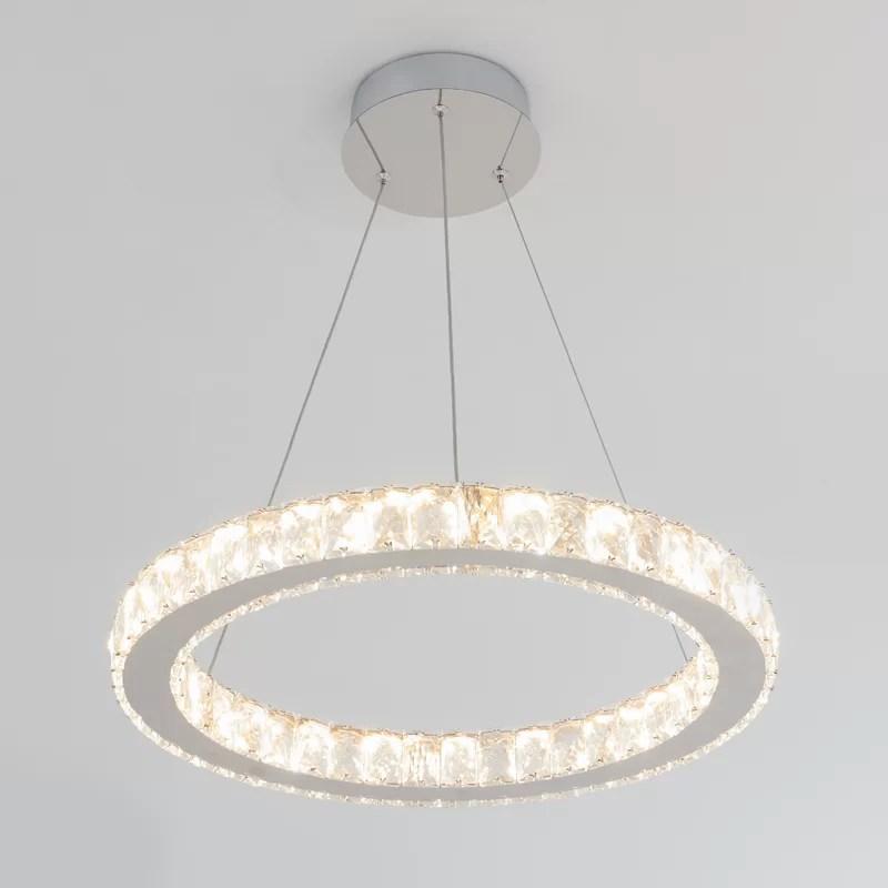 carrera 1 light unique drum led chandelier