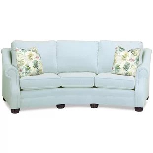 aqua sofa large round sectional sofas couch wayfair quickview