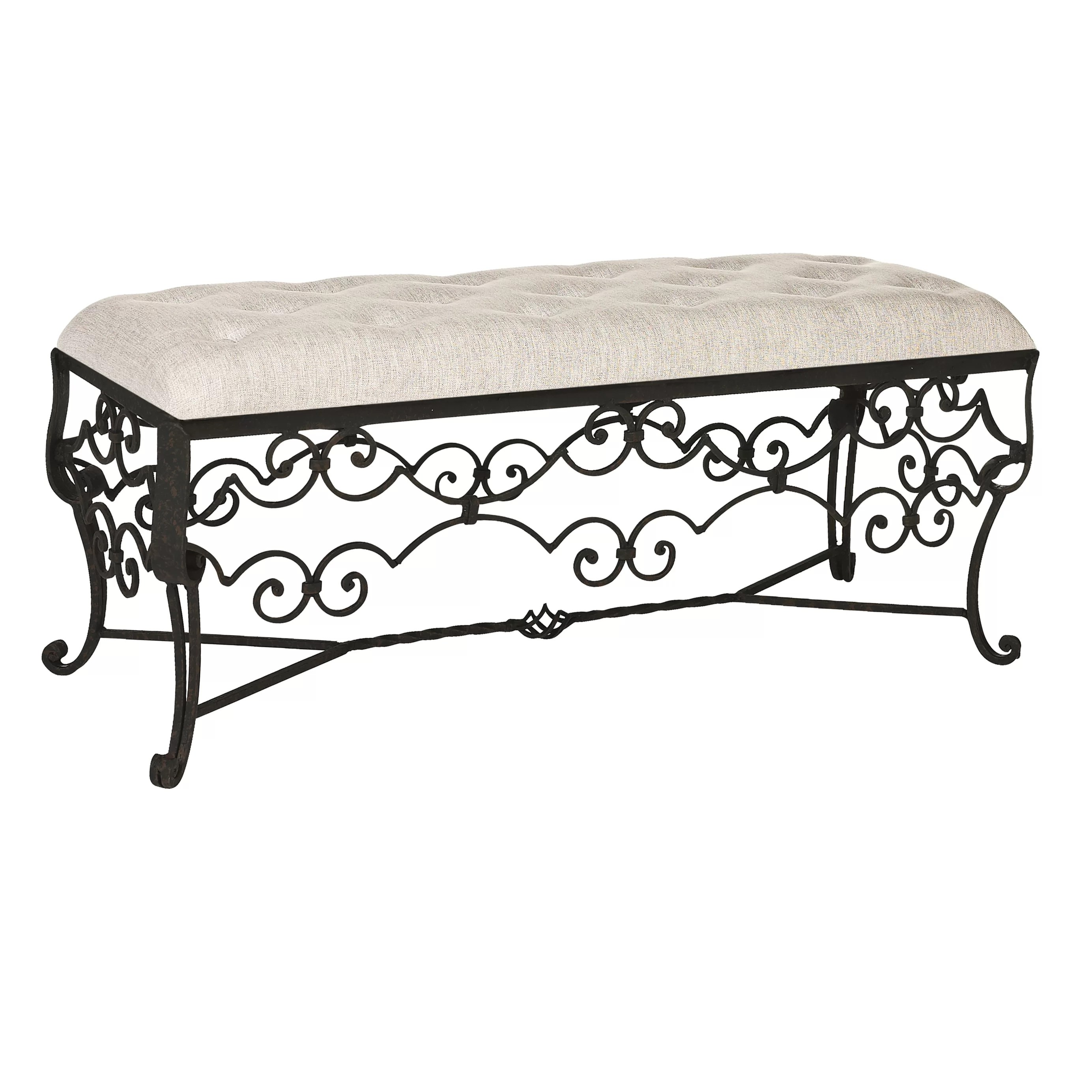 Ellahome Wilmington Bedroom Upholstered Bench Wayfair