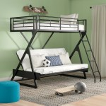 Zoomie Kids Petrey Twin Over Full Futon Bunk Bed Reviews