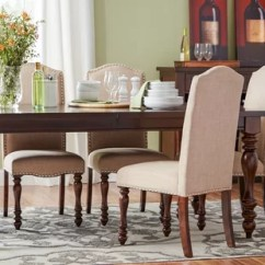 Nailhead Dining Room Chairs Modern Wingback Chair Pottery Barn You Ll Love Wayfair Lanesboro Upholstered Side Set Of 2