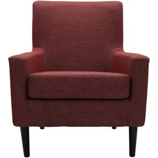 red lounge chair stand test protocol modern contemporary chairs allmodern quickview