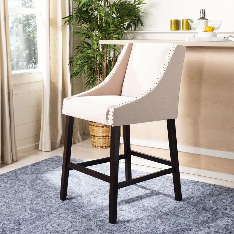 29 Bar Stool Upholstery: Beige