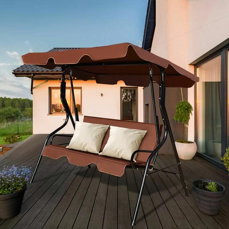 koch patio glider hammock porch swing