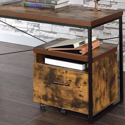 Drawer Wood Filing Cabinets You'll Love in 2019