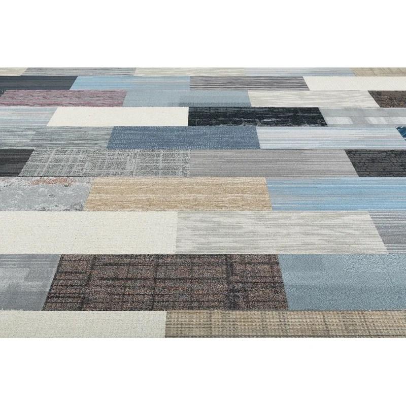 diy 12 x36 level cut and loop peel and stick carpet tile