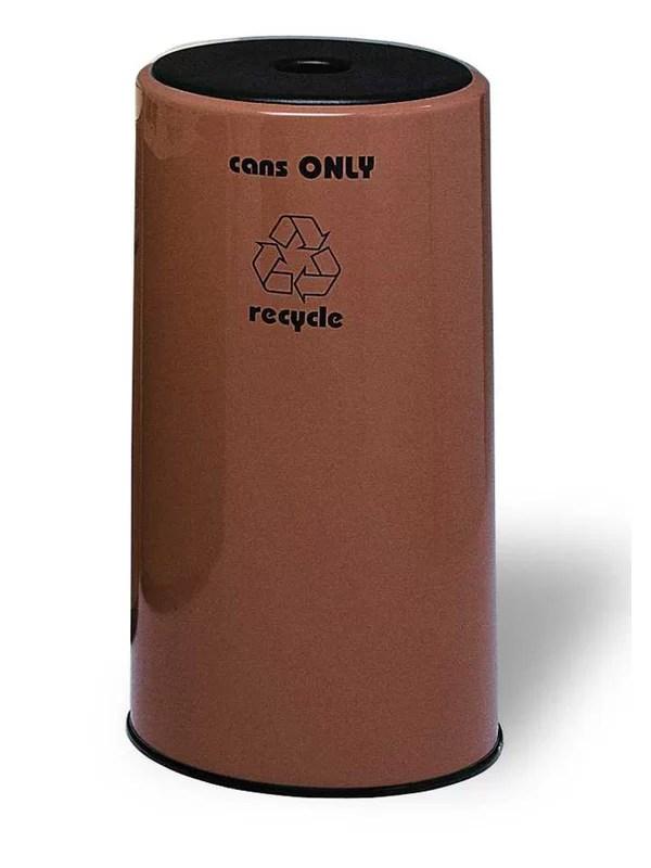 Seashore 1 Stream 21 Gallon Recycling Bin Color: Black