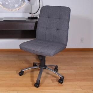 wood desk chair no wheels office on hardwood floor wooden wayfair save