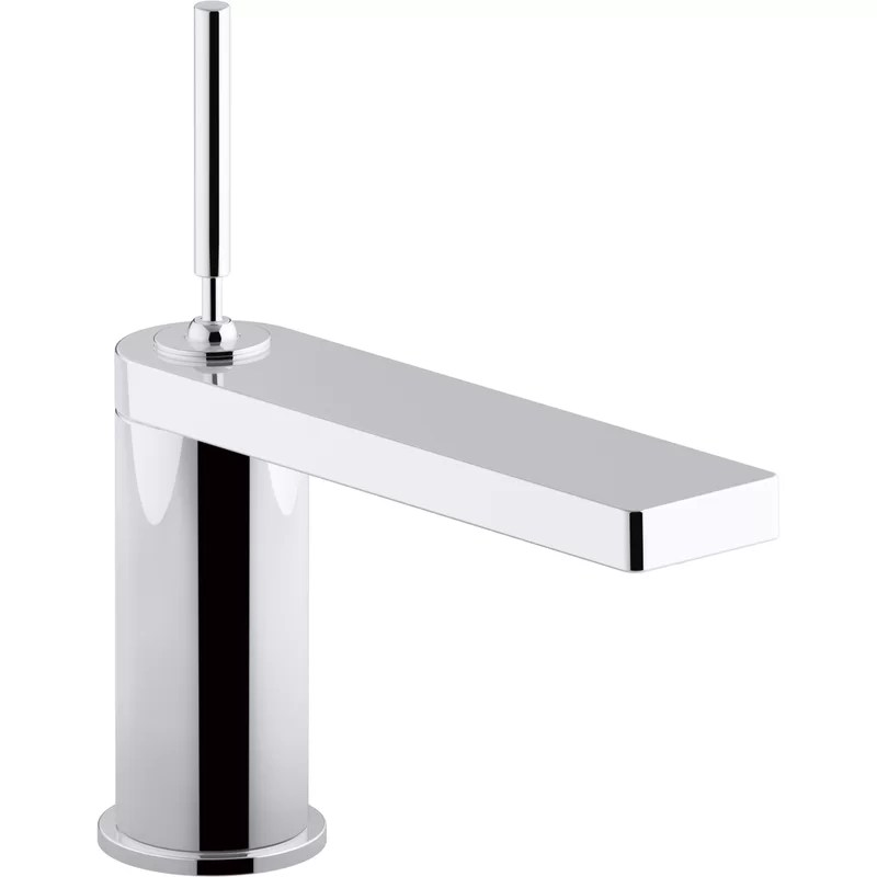 kohler composed single handle bathroom sink faucet with joystick handle