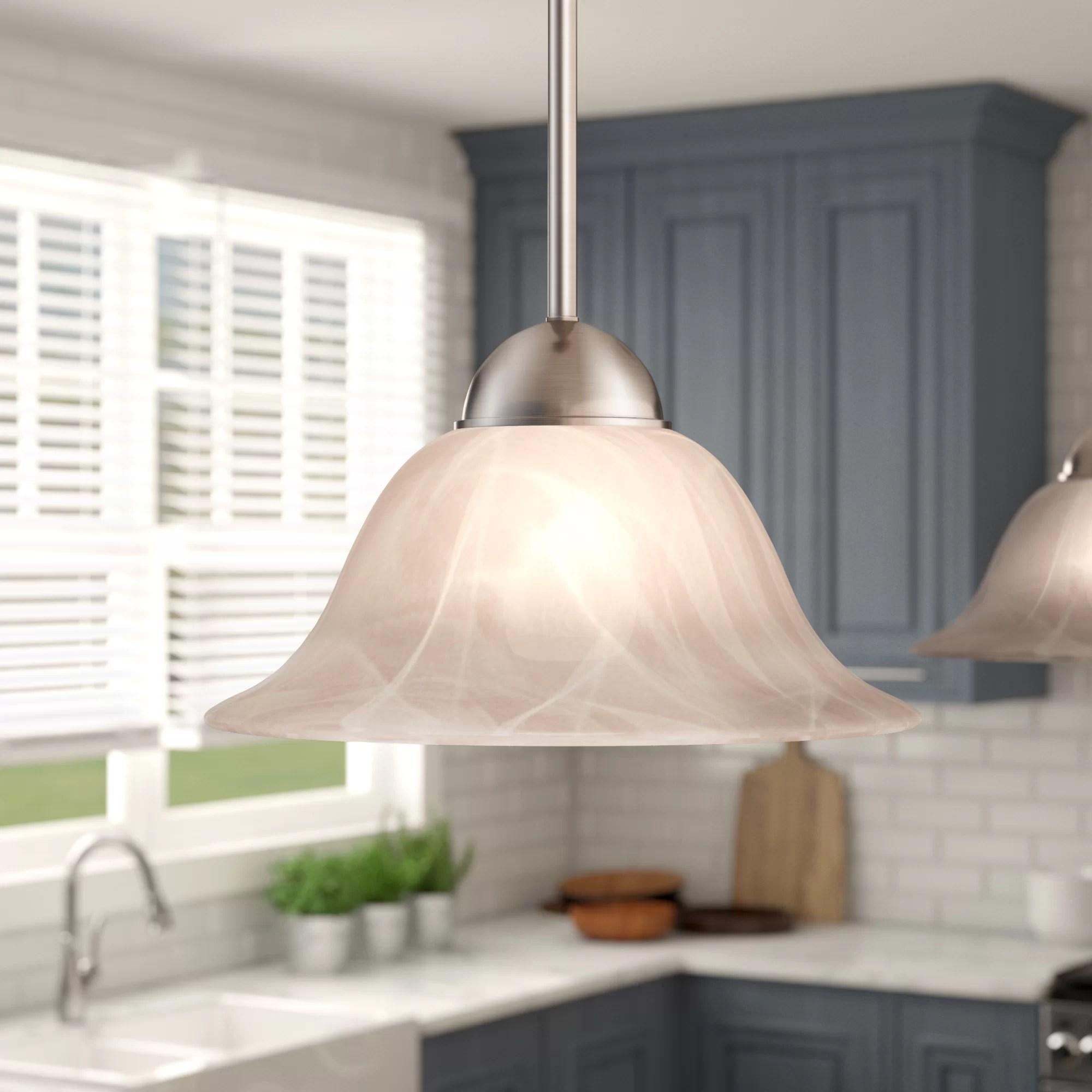 Brushed Nickel Pendant Lighting You Ll Love In 2020 Wayfair