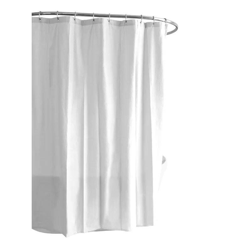 ella microfiber single shower curtain