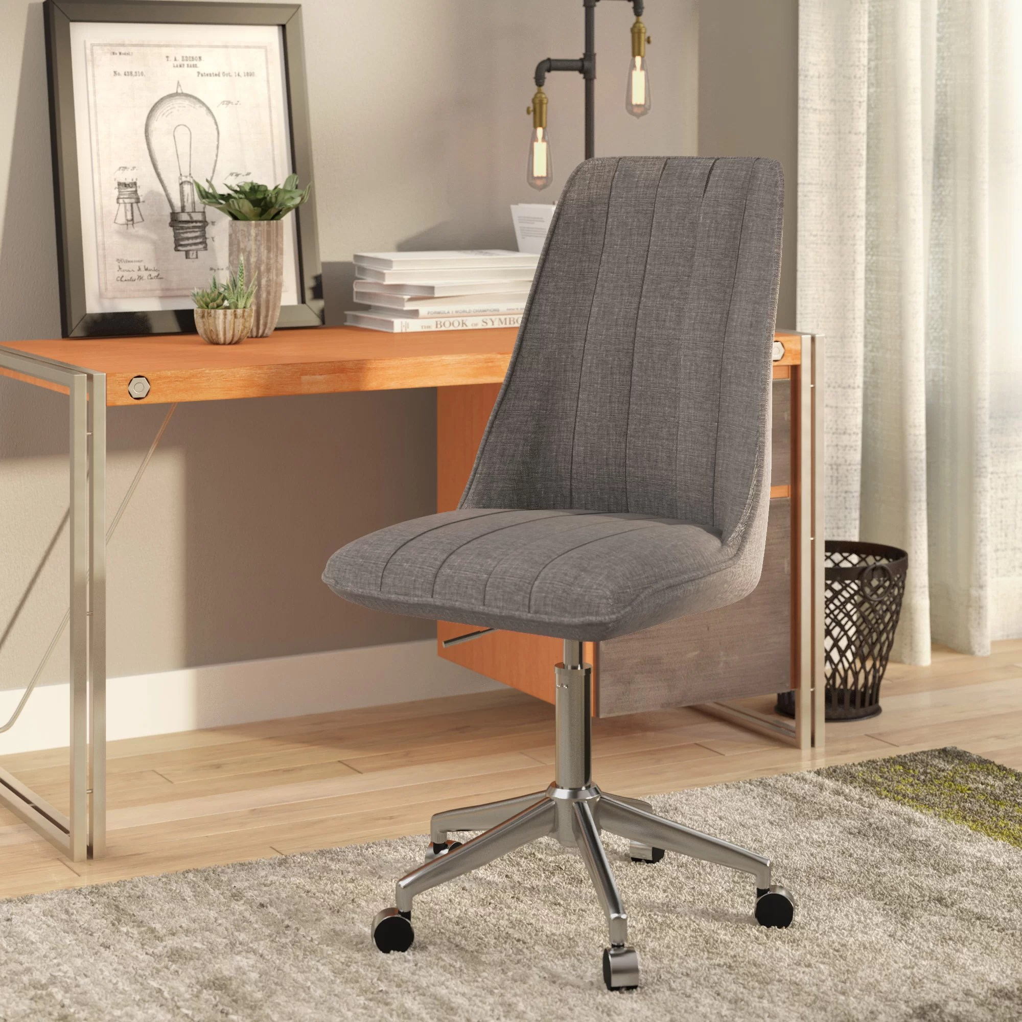 Linen Office Chair Sutter Creek Task Chair