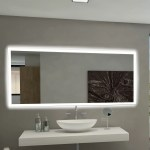 Paris Mirror Rectangle Backlit Bathroom Vanity Wall Mirror Reviews Wayfair Ca