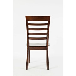 Unfinished Ladder Back Chairs Wheelchair Tagalog Alcott Hill Dunster Solid Wood Dining Chair