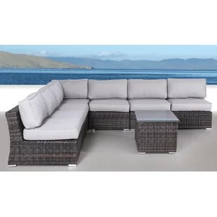 Huddleson 8 Piece Sectional Set with Cushions